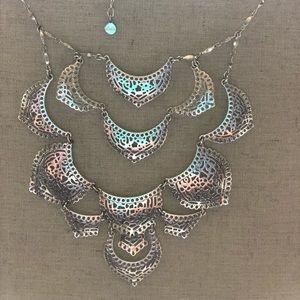 Silver Stella & Dot Necklace